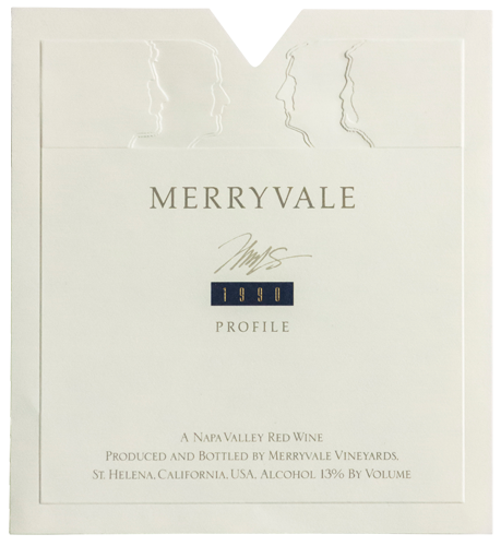 1990 Profile Wine Bottle