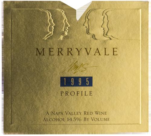 1995 Profile Wine Bottle