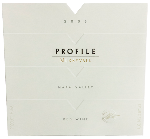 2006 Profile Wine Bottle