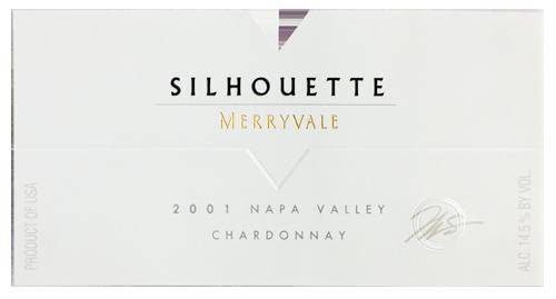 2001 Silhouette Wine Bottle