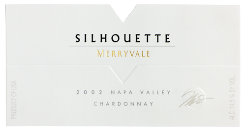 2002 Silhouette Wine Bottle